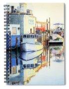 At Cortez Docks Spiral Notebook