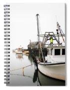 At Dock Spiral Notebook