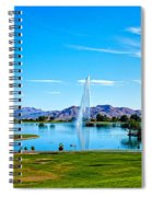 At Fountain Park Spiral Notebook