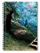 At Home In Her Forest Keep - Pacific Northwest Spiral Notebook