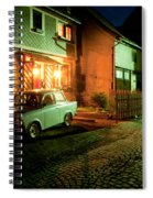 At Night In Thuringia Village Germany Spiral Notebook