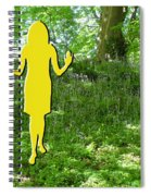 At One With Nature Spiral Notebook