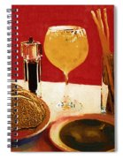 At Our Italian Restaurant Spiral Notebook