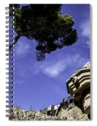 At Parc Guell In Barcelona - Spain Spiral Notebook