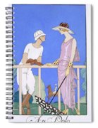 At Polo Spiral Notebook
