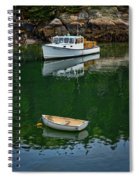 At Rest In The Cove Spiral Notebook