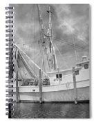 At Rest In The Harbor Spiral Notebook
