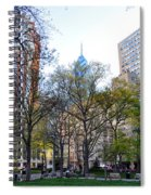At Rittenhouse Square Spiral Notebook