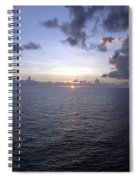 At Sea -- A Sunrise Begins Spiral Notebook