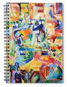 at the age of three years Avraham AVine recognized his Creator 5 Spiral Notebook