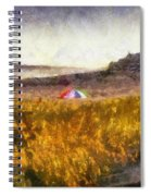 At The Beach Photo Art 01 Spiral Notebook