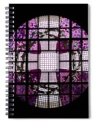 At The Cathedral Of Tampere Spiral Notebook
