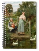 At The Duck Pond Spiral Notebook