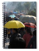 At The Elephant Festival Spiral Notebook