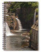 At The Falls In Ausable Ny Spiral Notebook