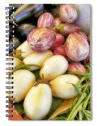 At The Farmers Market Spiral Notebook