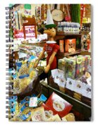 At The Florence Market  Spiral Notebook