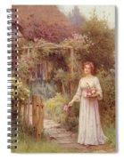 At The Garden Gate Spiral Notebook