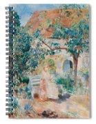 At The Garden In Bretagne Spiral Notebook