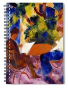 At The Garden Table Spiral Notebook