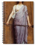 At The Gate Spiral Notebook