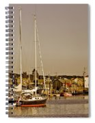 At The Harbor - Martha's Vineyard Spiral Notebook