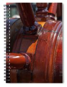 At The Helm Spiral Notebook