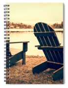 At The Lake Spiral Notebook