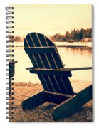 At The Lake Square Format Spiral Notebook