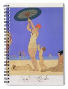 At The Lido Spiral Notebook