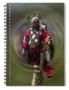 At The Powwow Sault Ste Marie Michigan Spiral Notebook