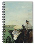 At The Races In The Countryside Spiral Notebook