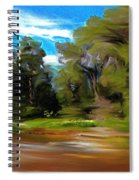 At The River's Edge Spiral Notebook