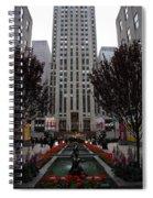 At The Rockefeller Center Spiral Notebook