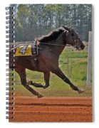 At The Three Quarter Mile Post Spiral Notebook