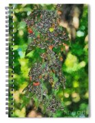 At The Valley Of Butterflies In Rhodes Island Spiral Notebook