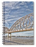 Atchafalaya River Bridge Spiral Notebook