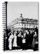 Atget Eclipse, 1912 Spiral Notebook