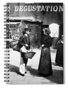 Atget Paris Street, C1898 Spiral Notebook