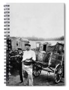 Atget Shantytown, C1900 Spiral Notebook