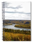 Athabasca Fall Spiral Notebook