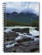 Athabasca Falls #3 Spiral Notebook