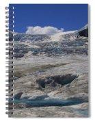 Athabasca Glacier 1 Spiral Notebook