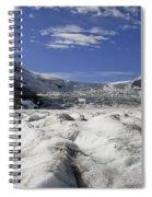Athabasca Glacier Spiral Notebook