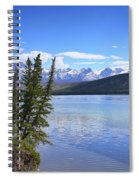 Athabasca River Scenery Spiral Notebook