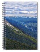 Athabasca River Valley - Jasper Spiral Notebook