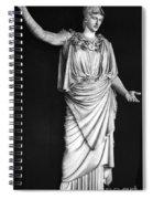 Athena Or Minerva Spiral Notebook