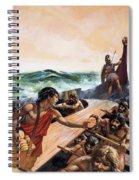 Athenian Trireme Spiral Notebook