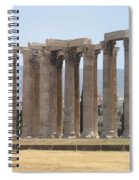 Athens 1 Spiral Notebook