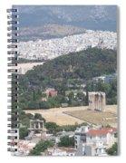 Athens 3 Spiral Notebook